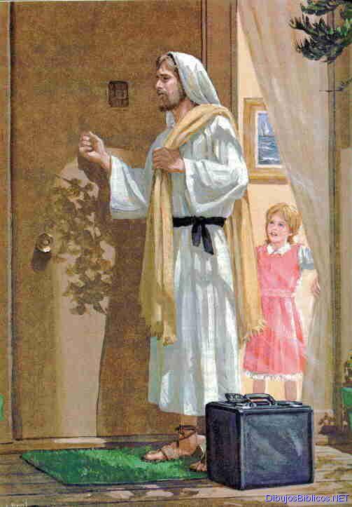 Gifs y fondos paz enla tormenta jes s toca mi puerta for Correo puerta a puerta