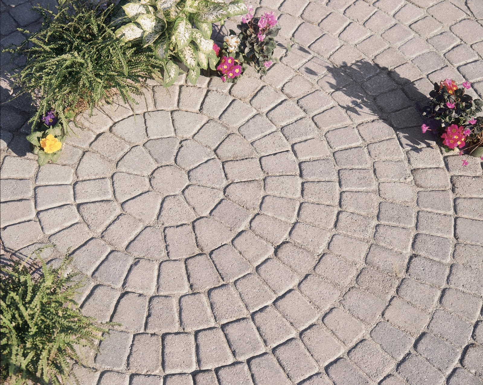 custom stoneworks u0026 design inc tumbled finish circle pattern