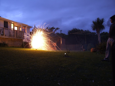 Guy Fawkes Evening 2012