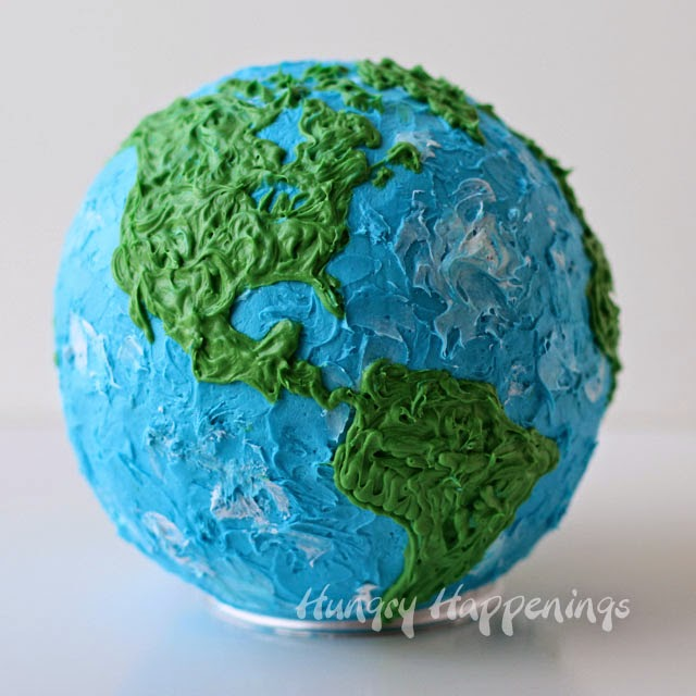 Earth Cake | HungryHappenings.com