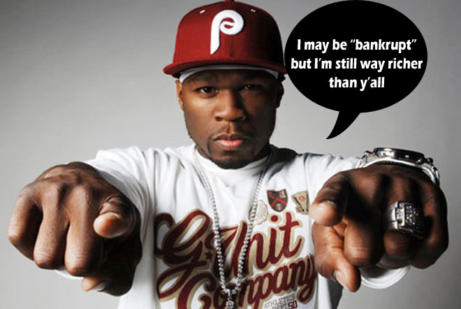 "50 Cent Declared ""Rich Man Bankruptcy"", Still Has $7.4 Million In Cash - Documents Reveal"