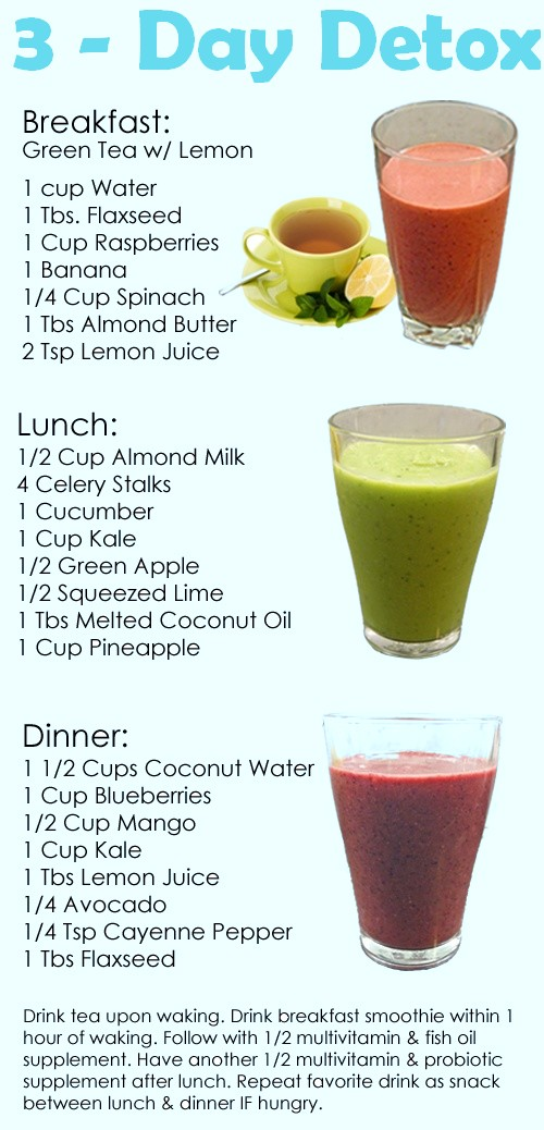 Natural Detox Drinks To Make At Home