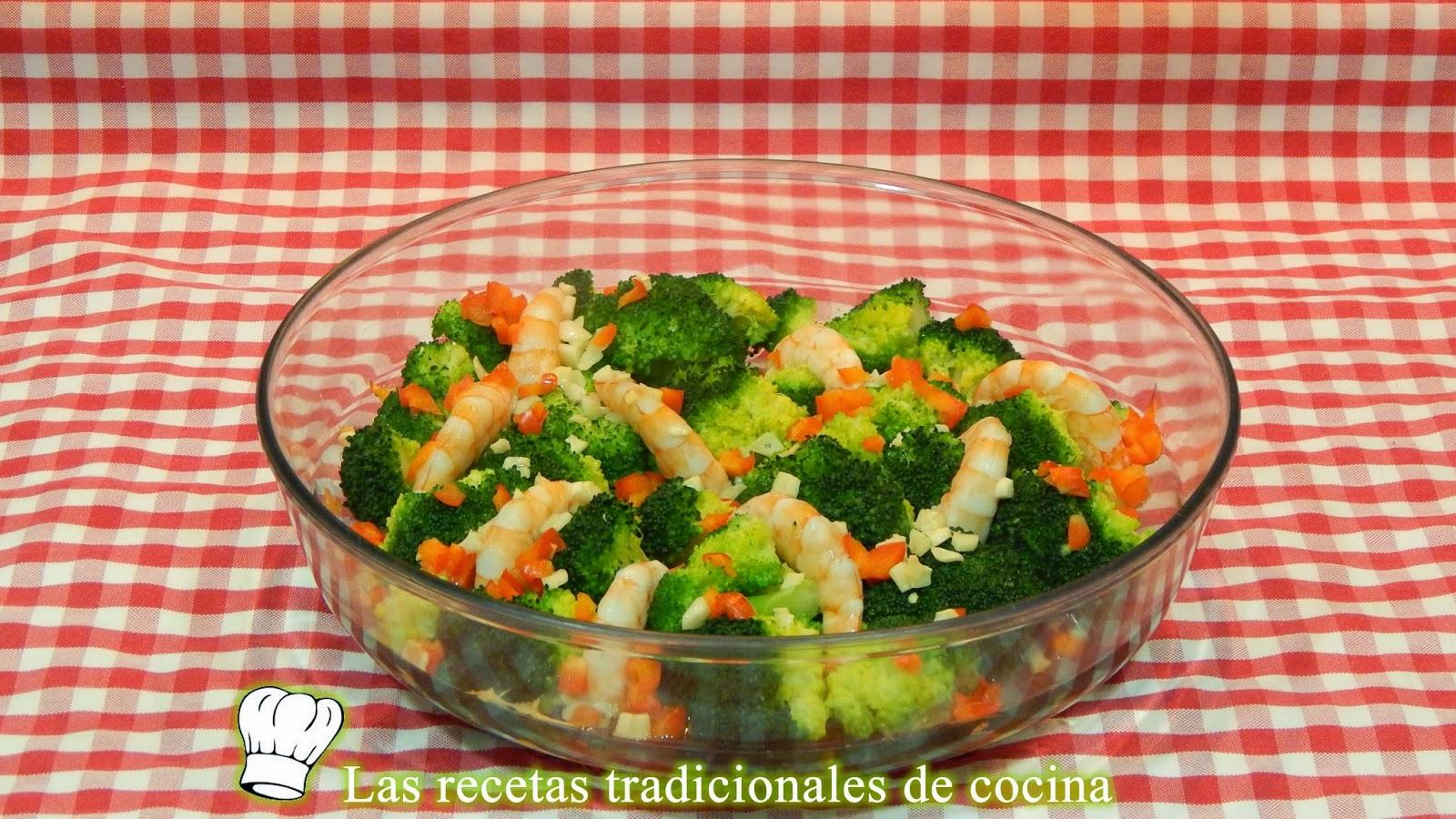 Receta de brócoli al horno