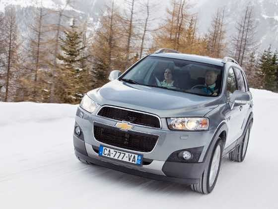 All New Chevrolet Captiva Front View