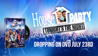 Enter the House Party Tonight's the Night DVD Giveaway, US 18+, 8/1