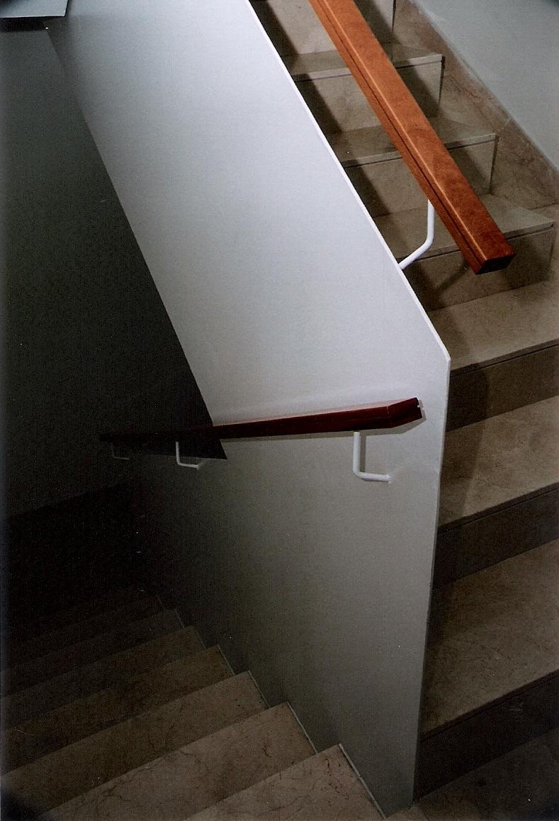 Joan bonet barandilla especial para escalera - Barandilla de escalera ...