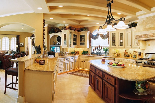 spacious kitchen design interior ideas decorating and