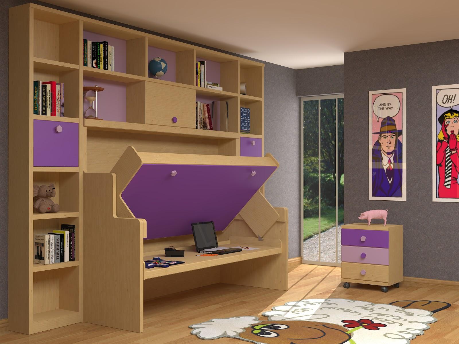 Muebles juveniles dormitorios infantiles y habitaciones for Habitaciones originales para adultos