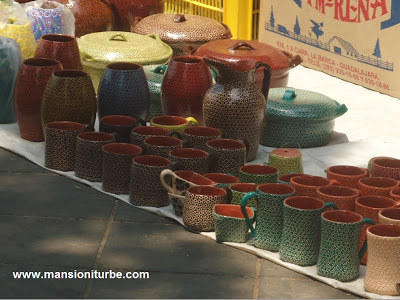 Fridays Pottery Market in Patzcuaro