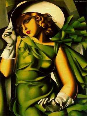 Tamara de Lempicka Jeune fille en vert