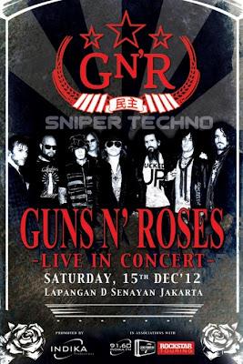 Jadwal Konser Musisi Luar Negeri di Indonesia Desember 2012
