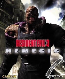 Resident Evil 3 Nemesis Cover, Poster