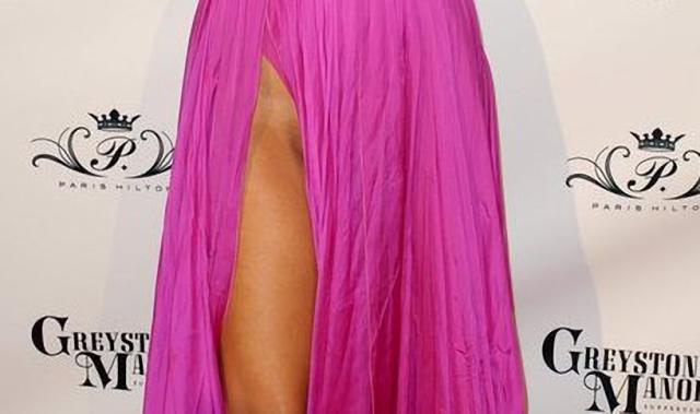 Paris Hilton sin calzón