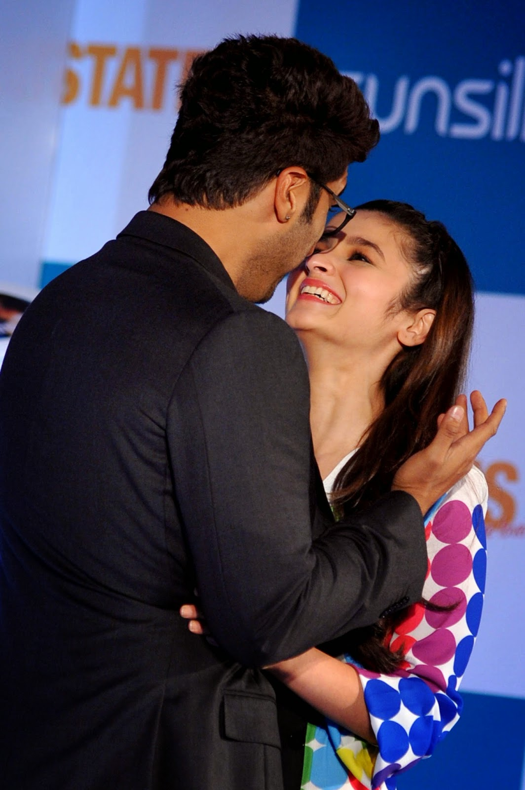 Actress, Alia and Arjun Love Affair, Alia Bhatt, Alia Bhatt and Arjun Kapoor, Arjun Kapoor, Bollywood, Daughter, Film 2014, Karan Johar, Kissing Scenes, Love Affair, Mahesh Bhatt, Movies, Two States,