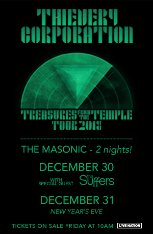 12/30 & 12/31: Thievery Corporation with The Suffers!