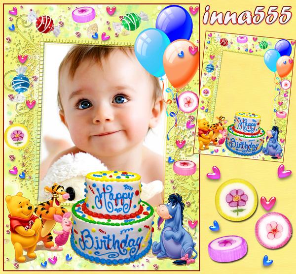 Marcos para cumpleaños de niños - Imagui