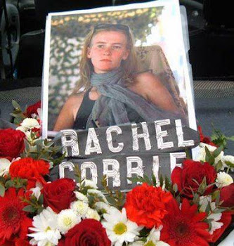 En memoria de Rachel, asesinada por el sionismo