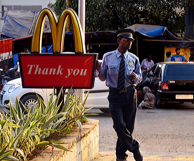 MacDonalds security guard