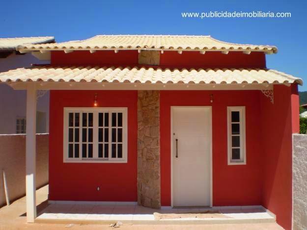 Casa económica de material de concreto en Brasil