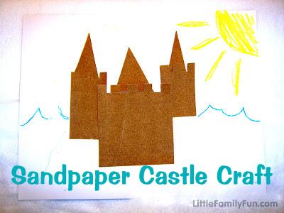 sandcastles preschool sandpaper castle 486
