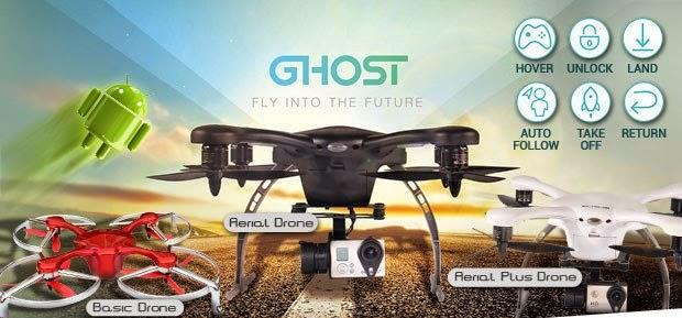 Cara Mudah Jadi Filmmaker Profesional Menggunakan Ghost Drone