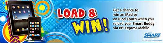 BPI SMART Enroll, Load and Win! 2015