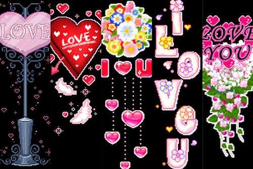 Imágenes de Amor y Corazones con movimiento II (GIFS)