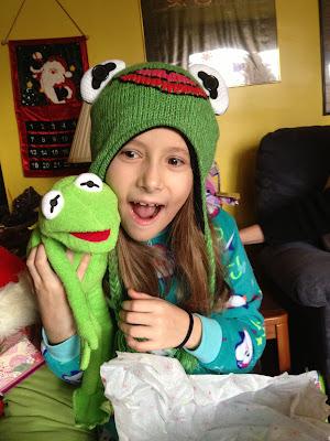 Kerah Age 7 Got A Kermit Hat And Doll Says Kerah S Mom