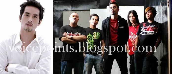 Former Rivermaya frontman Rico Blanco and rock band Rocksteddy will
