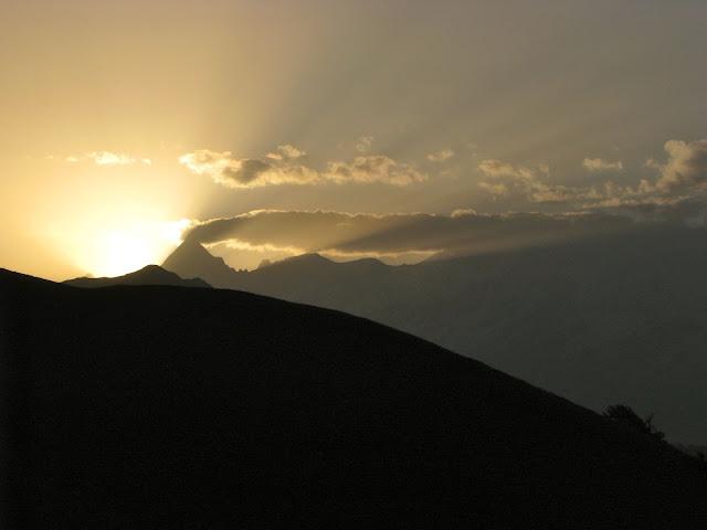 Sunrise at Syari