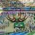 Así fue la ceremonia de inauguración en Brasil.