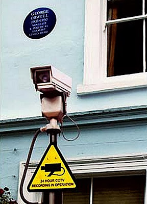 George Orwell Big Brother is watching