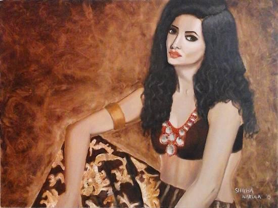 Portrait of an Indian Woman - 2 by Shikha Narula