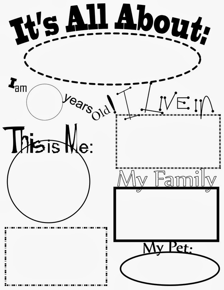 All About My Mom! Printable | Printable worksheets and Worksheets