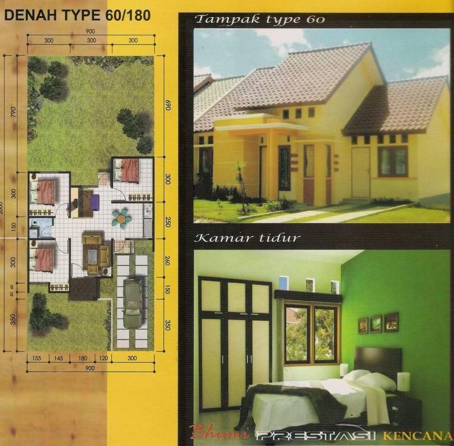 Contoh Rumah Idaman Minimalis Type 60 Terbaru 2015