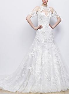 http://www.landybridal.co/romantic1classic-bateau-natural-train-satin-ivory-sleeveless-wedding-dress-with-sashes-lwat1501d.html