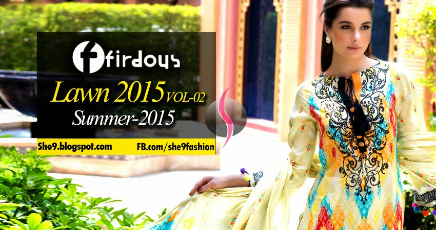 Firdous Lawn 2015 Edition No-2 Magazine