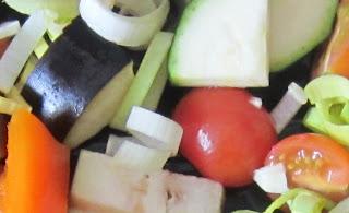 [Karmesin kocht] Gemüse mit Feta