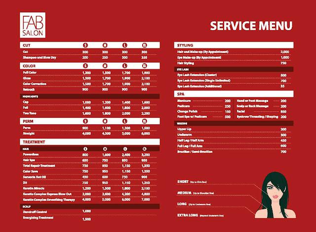 hair stylist haircut beauty salons brochure templates