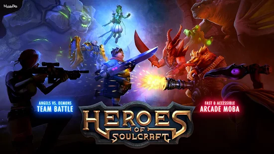 Heroes of SoulCraft MOBA apk mod data