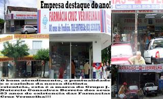 FARMÁCIAS CRUZ VERMELHAS I  II    E  III