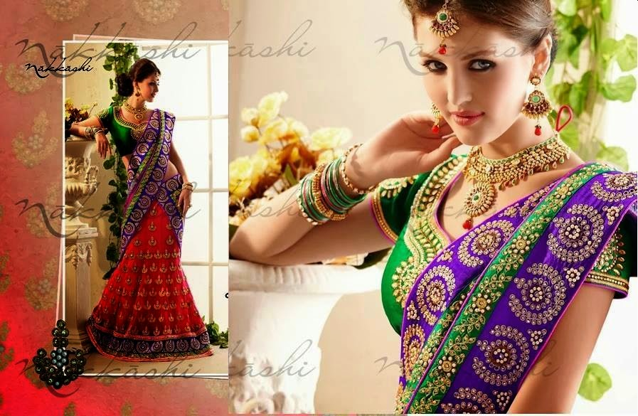 Elegant Wedding and Party wear sarees