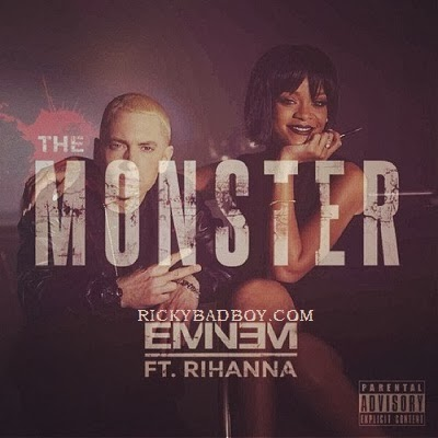 EMINEM - THE MONSTER LYRICS ft. Rihanna (Explicit)