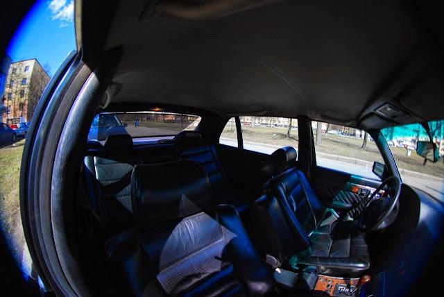 w126 interior panorama