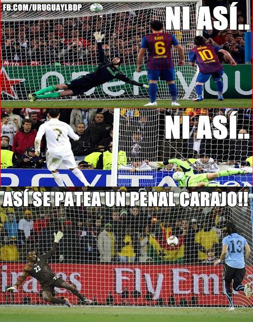 Messi, Cristiano Ronaldo, Loco Abreu