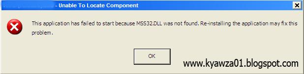 mss32.dll fix