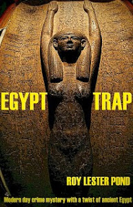Crime with a twist of ancient Egypt