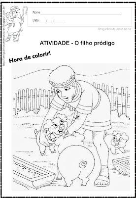 O filho pródigo - Atividade