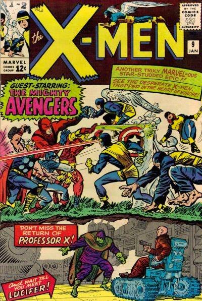 X-Men #9, the Avengers