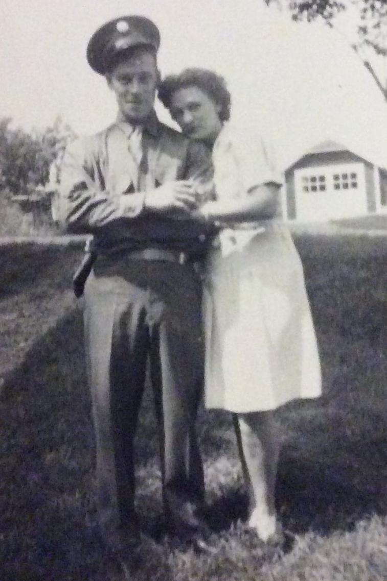 1945, Nathan & his wife Mary